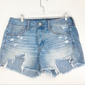 American Eagle | Button Fly Tom Girl Jean Shorts 6